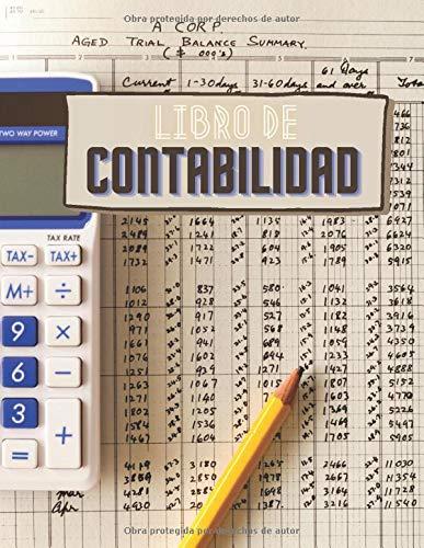Libro de Contabilidad: Cuaderno de registro de contabilidad   Libro contables en letra grande   Libreta de facturas para pequeñas empresas   Registro de ingresos y gastos