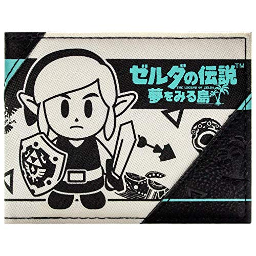 Cartera de Link's Awakening Estilo Japones Crema