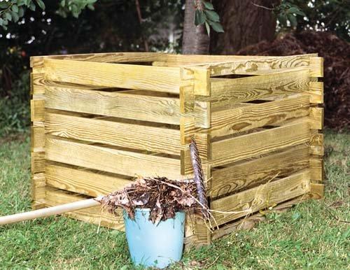 Kompostbehälter 100 x 100 x 70 cm