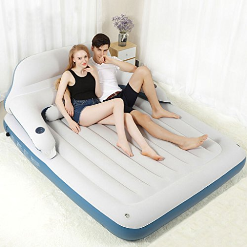 Sale!! BJL Backrest Air Mattress 2 People Midday Air Bed Portable Sofa Napping Bed air Bed