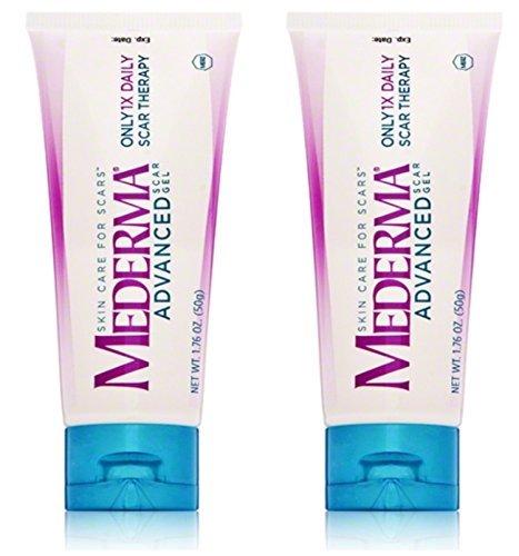 Mederma Advanced Scar Gel 50 Grams Pack Of 2 Buy Online In