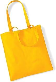 Shirtinstyle Premium Stoffbeutel Baumwolltasche Beutel Shopper Umhängetasche, Farbe sunflower