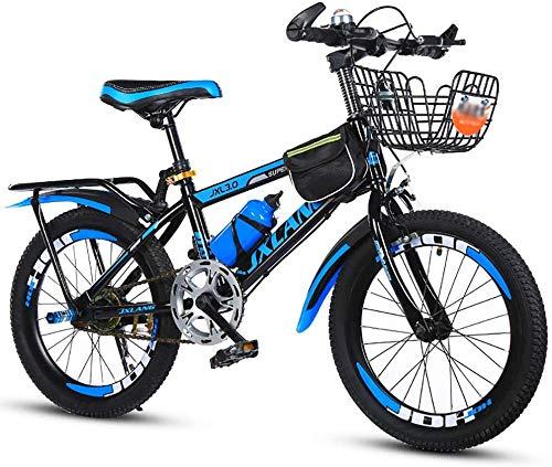 WJJH Bicicleta Estudiante de Bicicletas de montaña de los niños 18/20/22 Pulgadas...