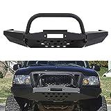 Front Modular Winch Bumper W/Bull Bar For Ford Ranger 1998-2011