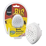 The Big Cheese STV726 Sonic Repeller (Humane Rodent Pest Deterrent, Repels Rats and Mice from the Home, Covers Upto 37 sq m)