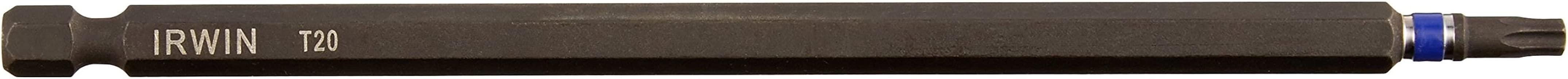 Irwin Tools 1837526 Impact Performance Series TORX T20 Power Bit, 6