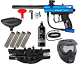 Action Village Kingman Spyder Epic Paintball Gun Package Kit (Victor) (Blue)