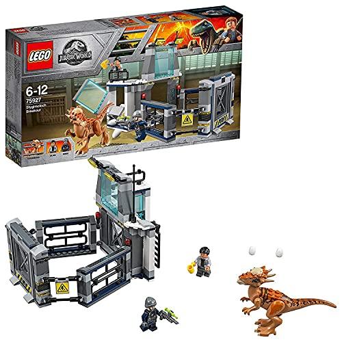 LEGO Jurassic World - Fuga del Stygimoloch, Set de Construcción de Juguete de Dinosaurio para Niños y Niñas de 6 a 12 Años con Minifiguras (75927)