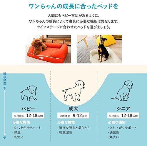 neDOGko(ねどっこ)犬ペットベッドペットベッド犬用ベッド高反発ウレタンLサイズマスタードイエロー中型犬大型犬洗える耐噛み丈夫