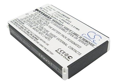 Battery Compatible with LOGITECH diNovo Edge, DiNovo Mini, Y-RAY81 Part NO 190304-2004, F12440071, M50A