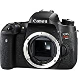Canon EOS Rebel T6s Digital SLR (Body Only) - Wi-Fi Enabled International Version (No Warranty)