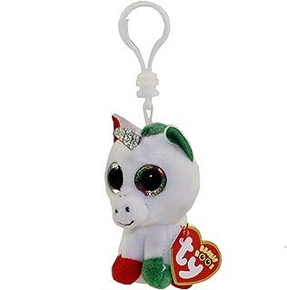 TY Beanie Boos Clips Christmas Candy Cane Unicorn