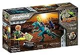 PLAYMOBIL Dino Rise 70629 Tío Rob: Armamento para la batalla, A partir de 5 años