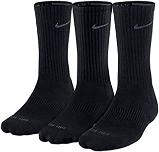 Unisex Dry Cushion Crew Training Sock (3 Pair)