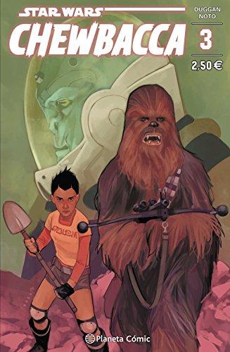 Star Wars Chewbacca nº 03/05 (Star Wars: Cómics Grapa Marvel)