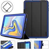 Galaxy Tab A 10.5 Case 2018, SEYMAC Stock Hybrid Armor Protective Case with...