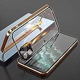 Coque de téléphone pour iphone, Boucle Double Face Phone Case, étui Transparent de Protection...