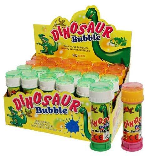 Jabón de burbujas Niños juguete dinosaurio 50ml Líquido con Paciencia parte Cumpleaños Boda rellenable
