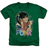 Punky Brewster Original Punk Unisex Youth Juvenile T-Shirt for Girls and Boys, Large (7) Kelly Green