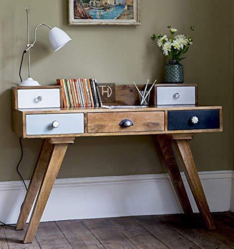 THD The Home Dekor Multi Rino Desk Solid Wood Study Table 5...