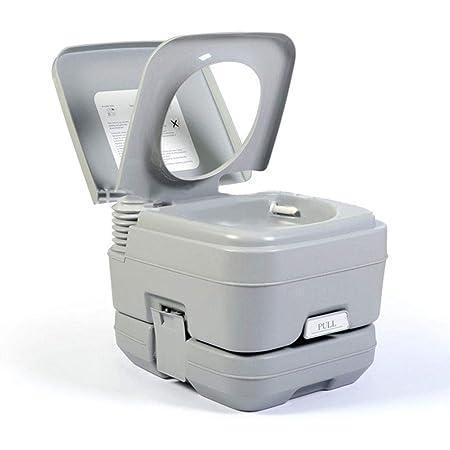 Details about  /Inodoro portátil de viaje Orinal compacto Asientos de cubo Tanque de desechos In