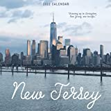 New Jersey Calendar 2022: Gifts for Friends and Family with 12-month Monthly Calendar in 8.5x8.5 inch