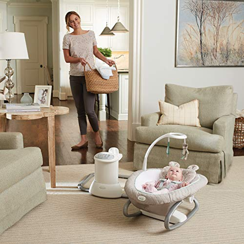 51BOBL2yiuL The Best Battery Operated Baby Swings in 2021 Reviews