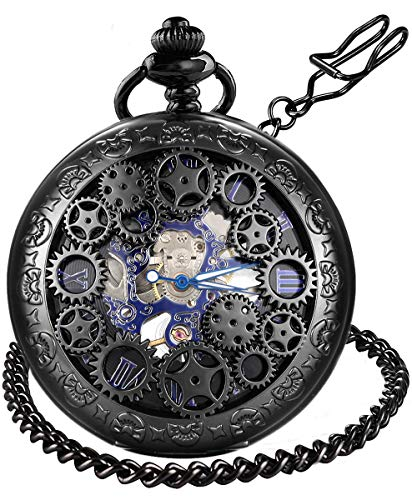 steampunk pocket watch