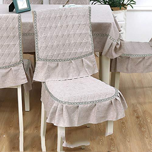 Katoen kussens en stoelen Suite kussen achterbank rechthoekige tafel,koffie Praag,130x180cm lagen