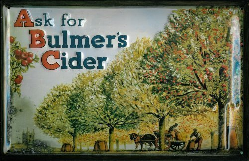 ASK for Bulmers Cider metalen plaat plaat plaat plaat metaal tin sign 20 x 30 cm