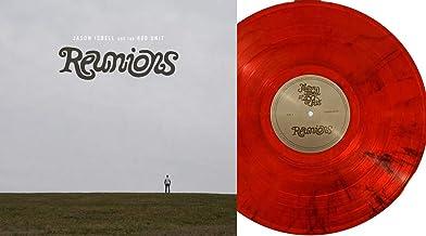 "Reunions - Exclusive Limited Edition RARE Transparent Fire Orange With Black Swirl ""Fiery Orange"" Colored Vinyl LP"