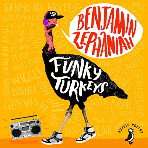 Funky Turkeys audiobook cover art