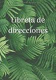 Libreta de direcciones: Agenda de direcciones y teléfonos, A5, 110 páginas, ordenación alfabética