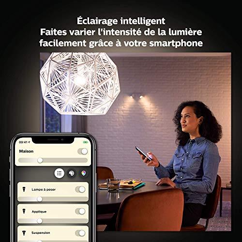 Philips Hue : Ampoule connectée LED E27 3