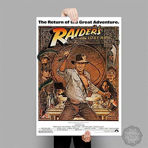 tiandushangdian Rahmenlose Malerei Indiana Jones Poster Klassische Filmplakate Und Drucke Leinwand Malerei Wandkunst Bild Home Decor Wandbild 50X70Cm D1510