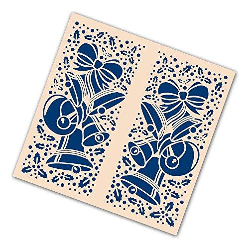 Tattered Lace Gatefold Embossing Folder - Christmas Bells