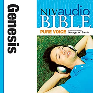 Pure Voice Audio Bible - New International Version, NIV (Narrated by George W. Sarris): (01) Genesis audiobook cover art