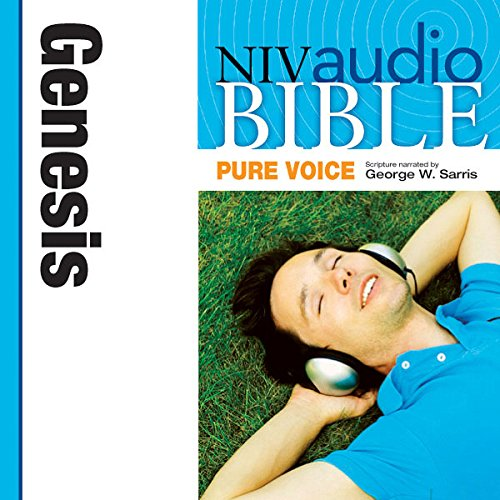 NIV Audio Bible, Pure Voice: Genesis audiobook cover art
