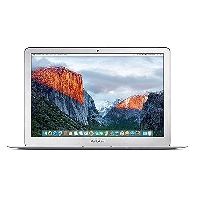 Apple MMGG2LL/A MacBook Air 13.3-Inch Laptop (1.6 GHz Intel Core i5, 8GB RAM, 256GB SSD, Mac OS X V10.11 El Capitan), Silver (Renewed)