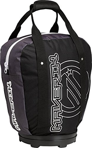 Maverik Lacrosse Speed Bag (Ball Bag), Black by Maverik Lacrosse