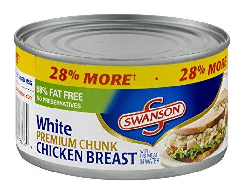 Swanson White Premium Chunk Chicken Breast 12.5 OZ (Pack of 24)