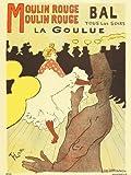onthewall Art Nouveau Kunstposterdruck von Henri de