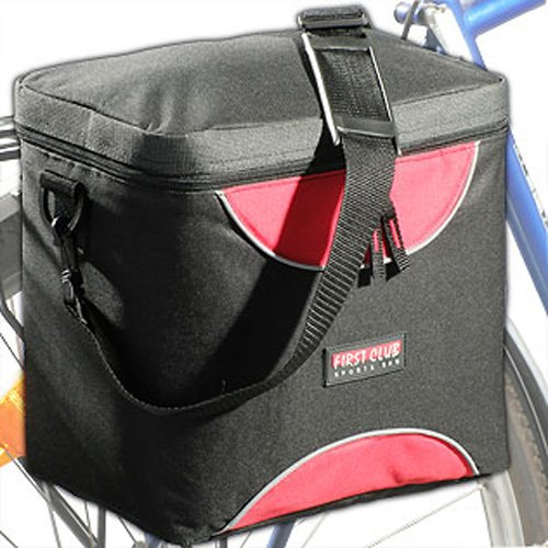 FIRST CLUB Rear Bike - Bolsa de Bicicleta, tamaño Unisex, Color neón