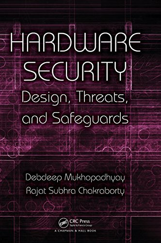 Compare Textbook Prices for Hardware Security: Design, Threats, and Safeguards 1 Edition ISBN 9781439895832 by Mukhopadhyay, Debdeep,Chakraborty, Rajat Subhra