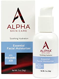 Alpha Skin Care Essential Facial Moisturizer with Hyaluronic Acid | Soothing Hydration | Reduces the Appearance of Lines &...