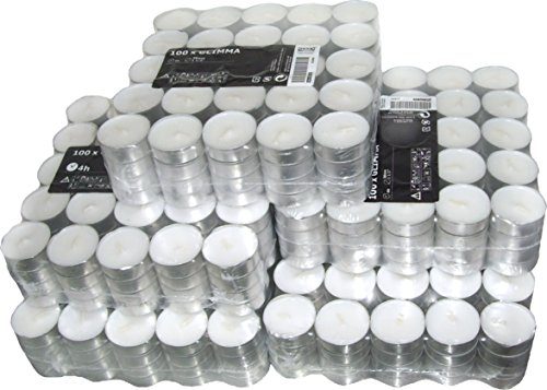 500 Ikea Glimma candles/tealights