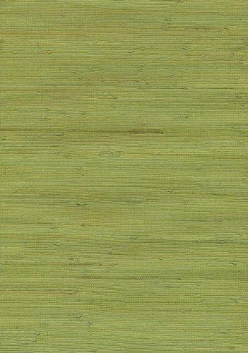 Brewster 53-65431 36-Inch by 288-Inch Jirou - Hand Weaved Grasscloth Wallpaper, Green
