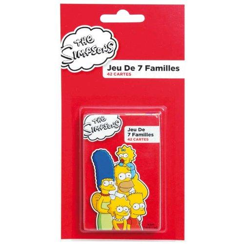 Los Simpson France Cartes A1100496 Juego de Las familias
