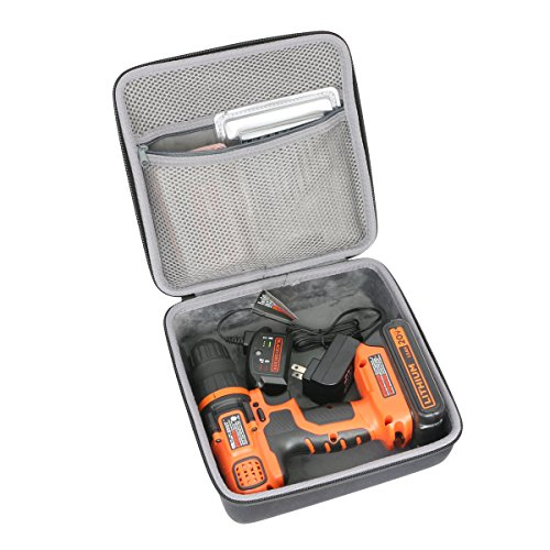Hard Travel Case for LDX120C 20-Volt MAX Lithium-Ion Cordless Drill Driver by co2CREA (Size 1)