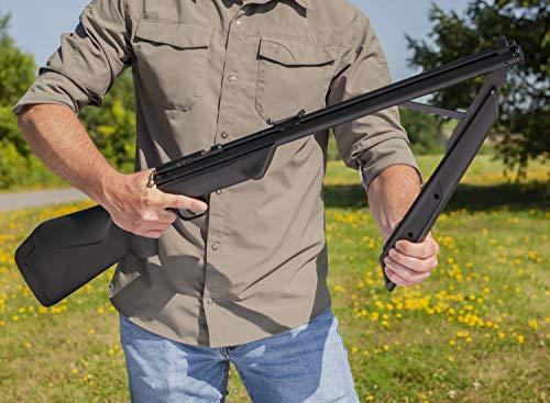 Benjamin 392S .22 Bolt Action Variable Pump Air Rifle, Black